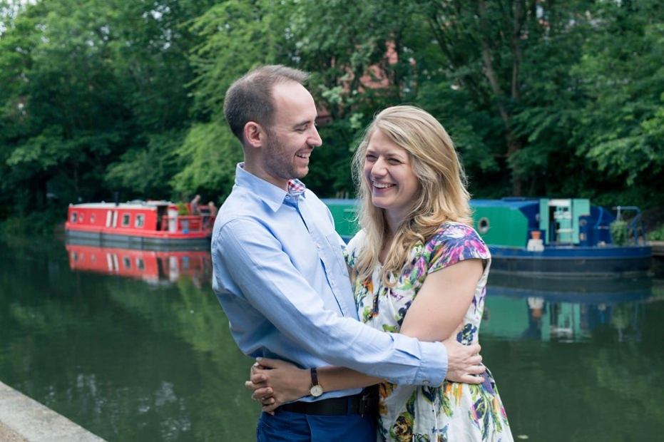 pre wedding shoot at Regents canal London 0003