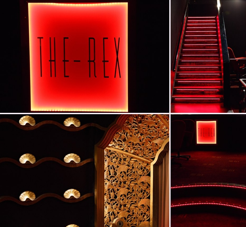 Pre wedding shoot art deco cinema The Rex