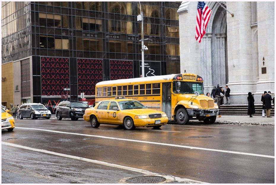 yellow school bus simpsons bus new york city sharon cooper