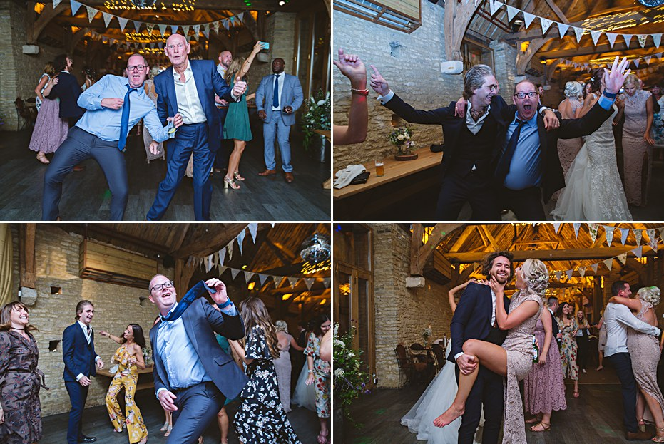Dance floor fun diy tythe barn bicester wedding Sharon Cooper Photography