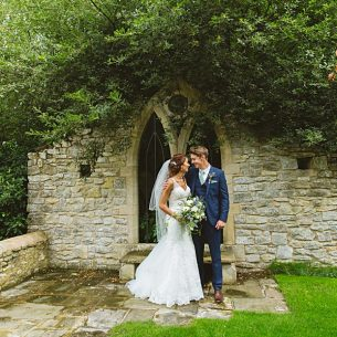 Bride and groom wedding photographer at The Tythe Barn Bicester Wedding Sharon Cooper_0002