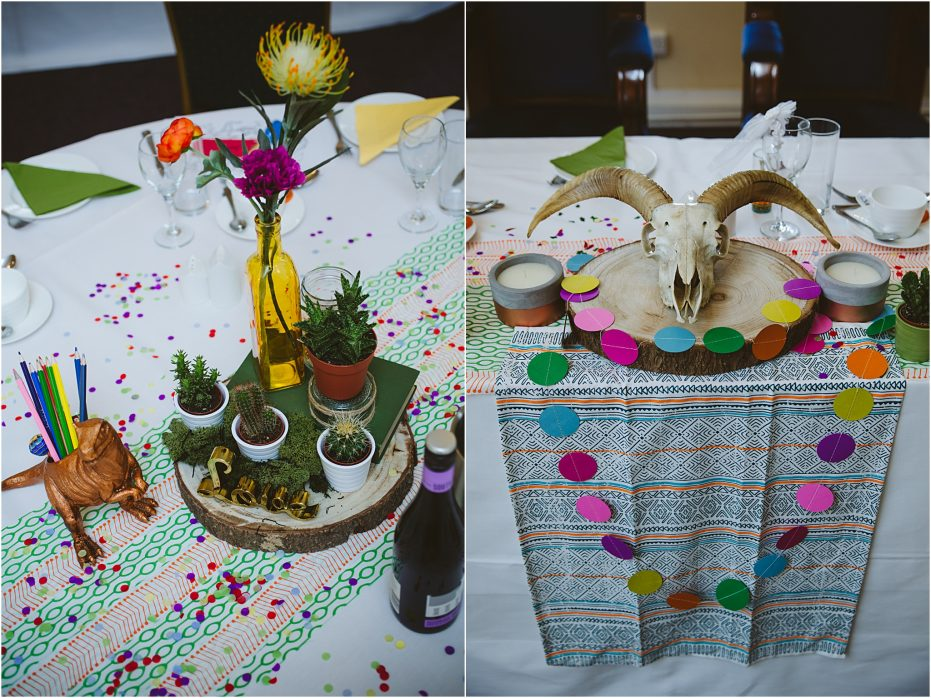 Mexican Fiesta colourful wedding, Letchworth Cloisters Louise + Ross