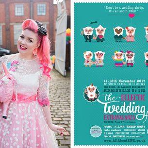 wedding-photographer-birmingham-alternative-ewe-flyer-pink-haired-bride-alternative-wedding-fair