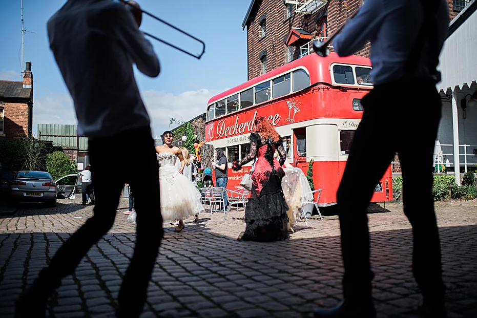 wedding-photographer-birmingham-alternative-real-couples-brass-band