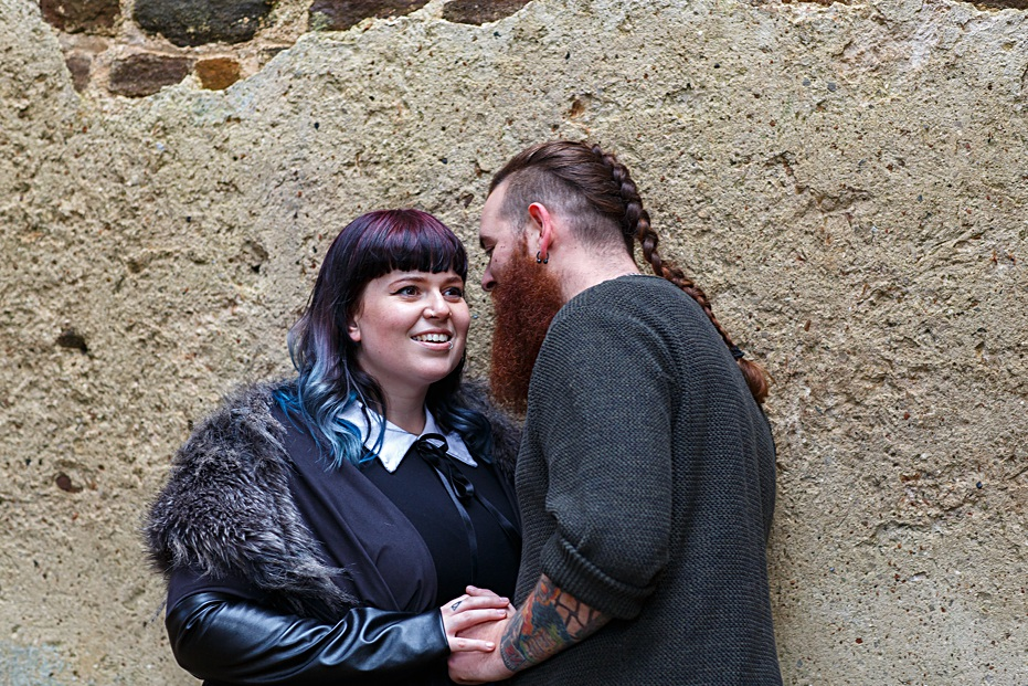 Ruined House - Lizz and Tom Pre wedding