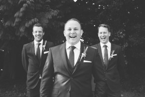 Groom-and-two-best-men-laughin